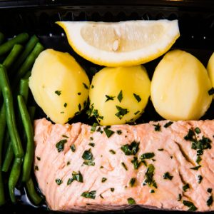 The Fitness Chef Salmon Beans Potatoes