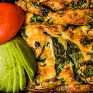 Avocado and Egg Toad in the Hole